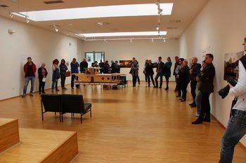 Odprtje razstave Davida Leitingerja: Plovni objekt