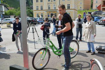 Urbana ureditev na Ravnah – predstavitev izposoje javnih koles sistema PICIKL
