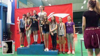 Prva koroška medalja na državnih prvenstvih v mlajših kategorijah v badmintonu!