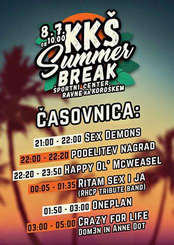 Zadnji dnevi izpitov za študente, bliža se KKŠ Summer Break!