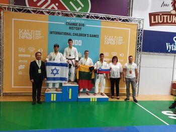 Judoisti na mednarodnih igrah šolskih otrok