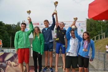 Deklice ekipne državne prvakinje na poletnem državnem prvenstvu 2017