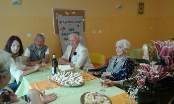 Obisk pri najstarejši občanki