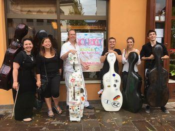 Mednarodni izobraževalni projekt Cello International Travel Academy na Ravnah