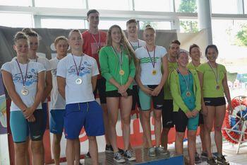 Fužinarjevi plavalci znova rekordni v Kranju