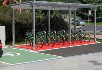 Gradbišča v Občini Ravne na Koroškem -  Postaje za izposojo koles in samopostrežne popravljalnice koles v Občini Ravne na Koroškem