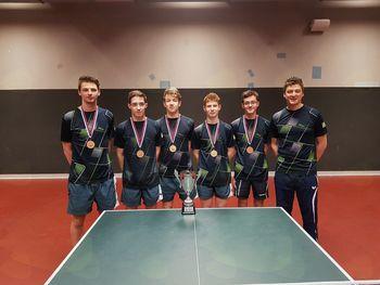 3. mesto za domače igralce namiznega tenisa