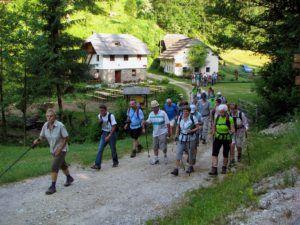 Predprijave za 10. voden pohod po Mlinarski poti (Koroška)