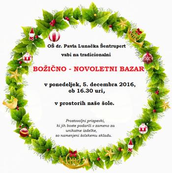 Božično novoletni bazar