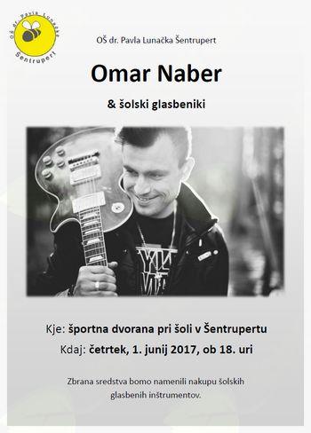 Omar Naber & šolski glasbeniki