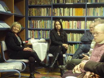 Literarni večer z Aleksandro Jelušič