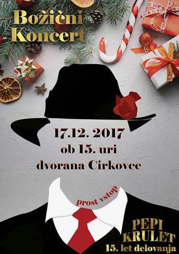 Božični koncert PEPI KRULET