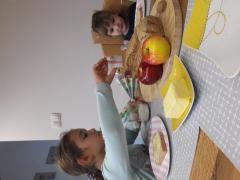 Tradicionalni slovenski zajtrk iz domače kuhinje (OŠ Cirkovce)