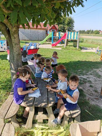Poletne radosti v vrtcu v Cirkovcah