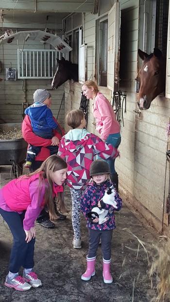 Prvič v naši občini 300 otrok na konja