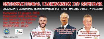 Taekwon-do seminar v Italiji