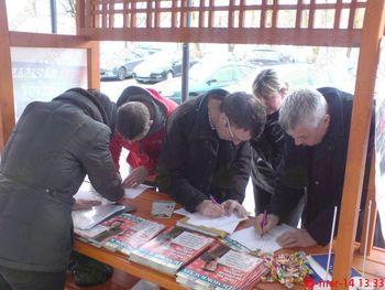 Zahvala občanom Litije in Šmartna pri Litiji za oddane podpise podpore