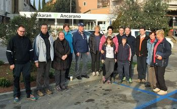 Pohodniški zaključek  ŠTD Rafolče v Ankaranu, Tinjanu in Socerbu