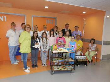 Donacija knjig Oddelku za pediatrijo Splošne bolnišnice Slovenj Gradec