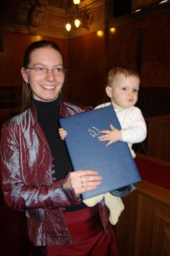 Prešernova nagrada diplomantki Mojci Muznik iz Doblarja