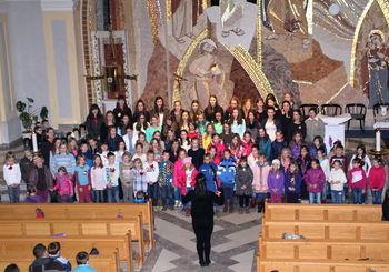 Pesem otrok pri sv. Nikolaju