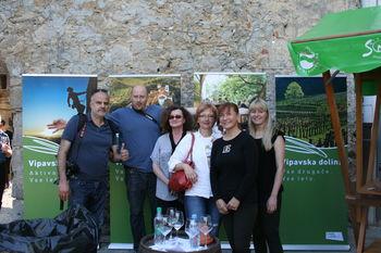 Hrvaški novinarji odkrivali vinsko-kulinarične užitke Vipavske doline