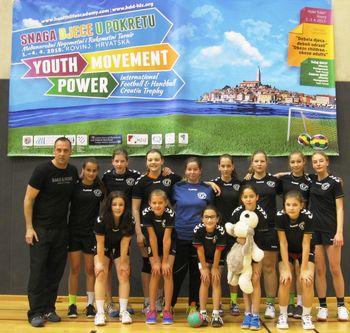Mladi rokometaši Slovenj Gradca na mednarodnem rokometnem turnirju CROATIA TROPHY v Rovinju