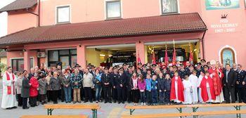 Gasilci praznujejo sv. Florjana