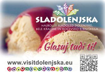 Iščemo najboljši sladoled v JV Sloveniji