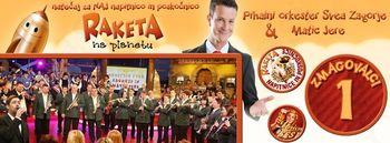 Pihalni orkester SVEA Zagorje in Matic Jere z zmagovalno »Lepo točajko«