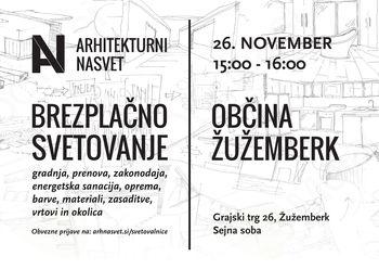 Mladi arhitekti in krajinski arhitekti svetujejo v Žužemberku
