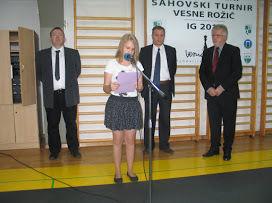 2. memorialni turnir Vesne Rožič