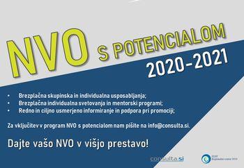 NVO s potencialom 2020 - 2021