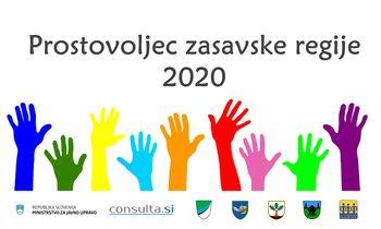 Objavljen je natečaj Prostovoljec zasavske regije 2020