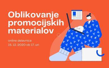 Online delavnica: Oblikovanje promocijskih materialov
