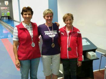Rozi Flisar najuspešnejša trebanjska kegljačica med veterankami