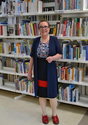 Konec meseca marca je prevzela vodenje Knjižnice Pavla Golie Trebnje  ANDREJA PLENIČAR