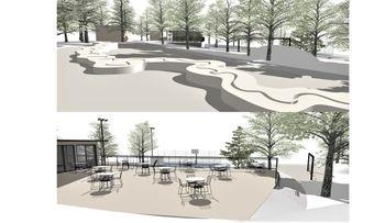 Obnova večnamenskega parka pri Domu starejših Trebnje
