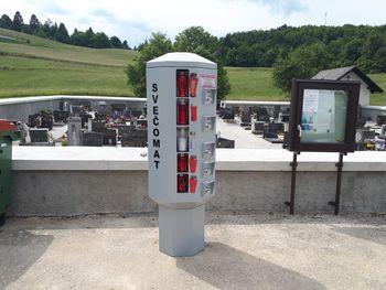 Svečomat na pokopališču Sela pri Šumberku
