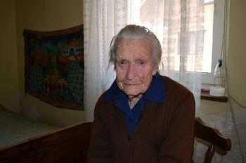 Justina Porle iz Šahovca praznovala častitljiv jubilej − 99 let