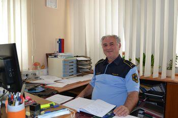 Željko Hvalec − komandir Policijske postaje Trebnje