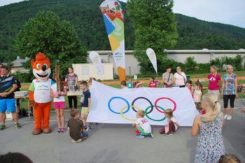 Tradicionalni Gumbkov tek v Vrtcu Borovnica
