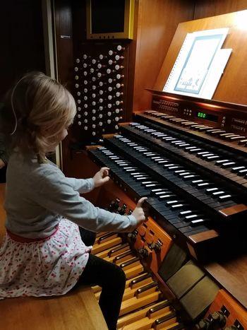 Igrali smo orgle v Cankarjevem domu