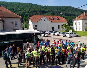 Srečanje planincev MDO PD Dolenjske in Bele krajine na Debencu