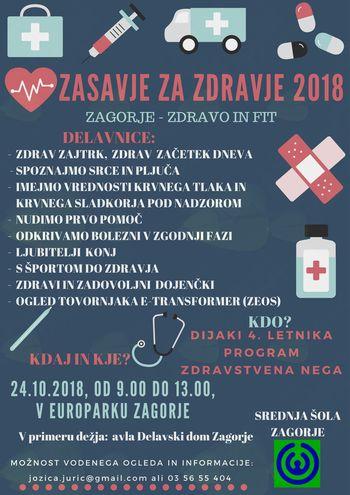 Zasavje za zdravje 2018, Zagorje- zdravo in fit