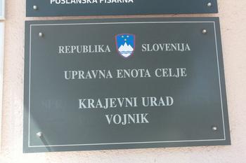 Obvestilo o spremenjenih uradnih urah Krajevnih uradov Vojnik in Dobrna