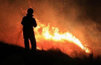 Razglas o veliki požarni ogroženosti naravnega okolja