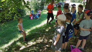 Poletna počitniška delavnica Šola preživetja v naravi