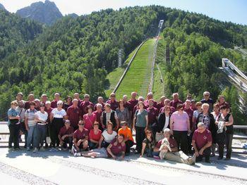 Vojniški moški zbor obiskal Gorenjsko