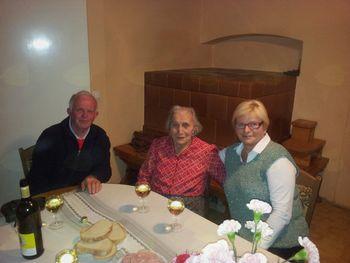 Angela Brodej praznuje 95 let